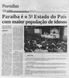 reportagem jornal União
